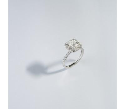 """Бриллиантовое кольцо 18 К, 4.14 DIA-0.95/22 CUS-1.03/1"""""""